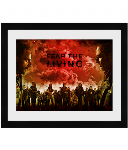 The Walking Dead Framed Print - Fear the Living